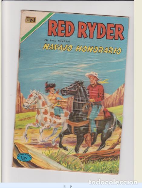RED RYDER NUMERO 233 (Tebeos y Comics - Novaro - Red Ryder)