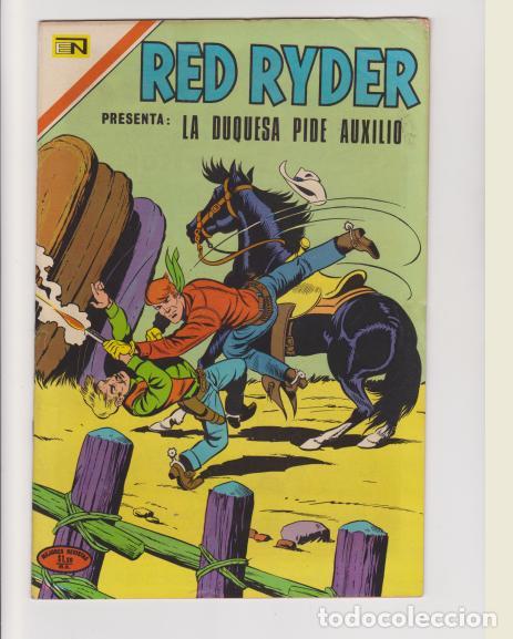 RED RYDER NUMERO 262 (Tebeos y Comics - Novaro - Red Ryder)