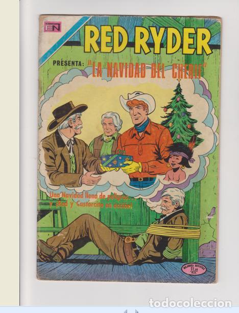 RED RYDER NUMERO 268 (Tebeos y Comics - Novaro - Red Ryder)