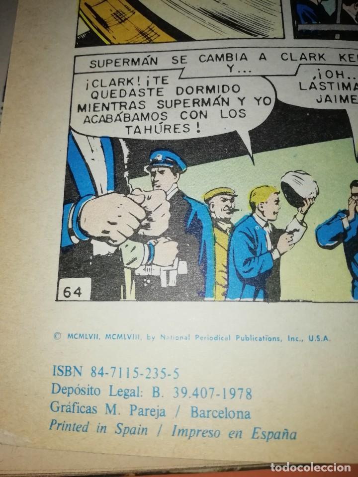 Tebeos: SUPERMAN EXTRA 1 LIBRO COMIC.EDITORIAL NOVARO 1978. TAPA DURA. - Foto 10 - 209754055