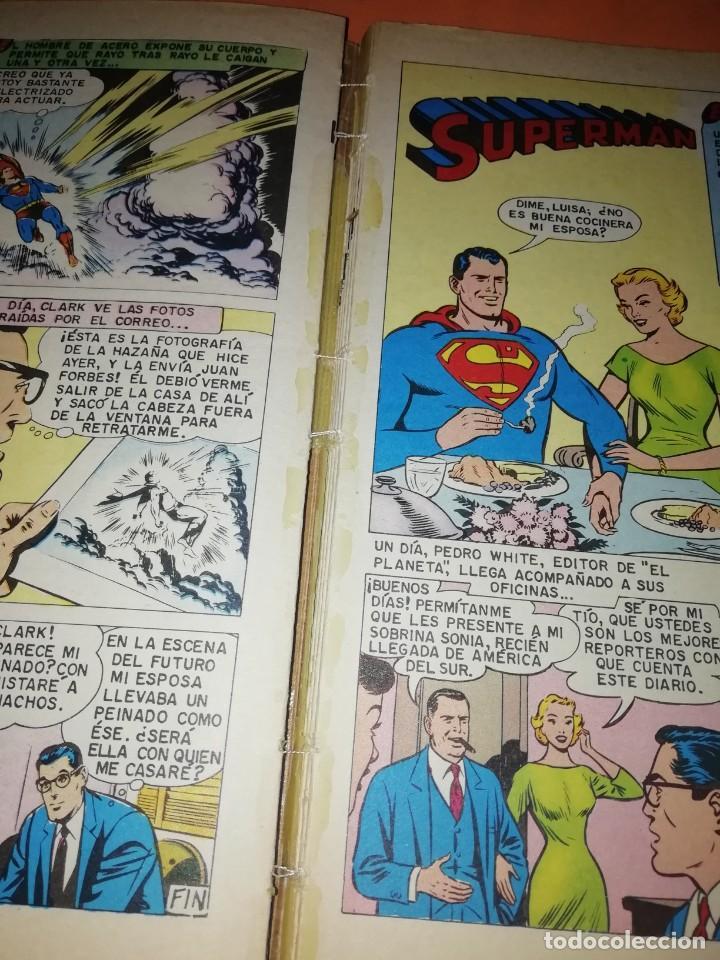 Tebeos: SUPERMAN EXTRA 1 LIBRO COMIC.EDITORIAL NOVARO 1978. TAPA DURA. - Foto 8 - 209754055