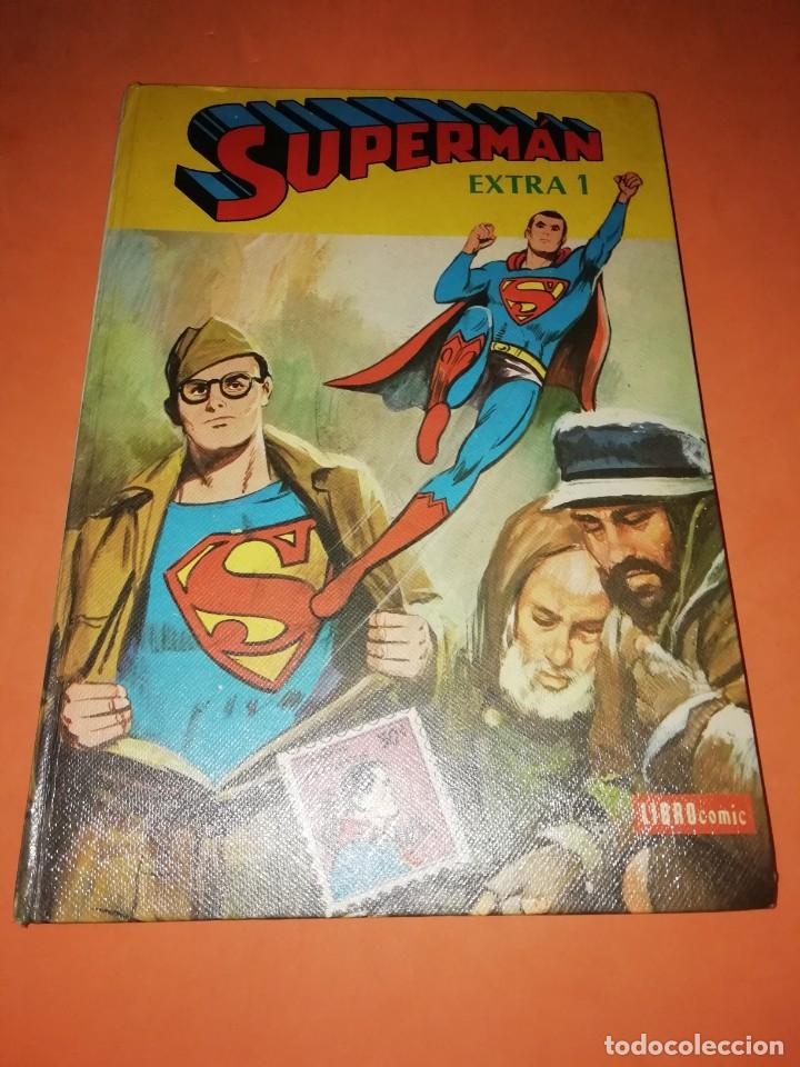 SUPERMAN EXTRA 1 LIBRO COMIC.EDITORIAL NOVARO 1978. TAPA DURA. (Tebeos y Comics - Novaro - Superman)