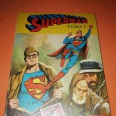 Tebeos: SUPERMAN EXTRA 1 LIBRO COMIC.EDITORIAL NOVARO 1978. TAPA DURA.. Lote 209754055