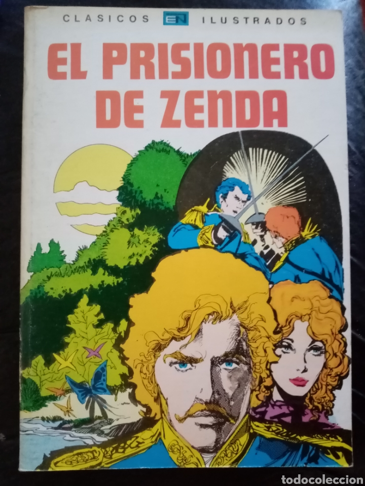 Tebeos: 1980 El Prisionero de Zenda. Libro ilustrado tebeo, cómic. - Foto 2 - 209780823