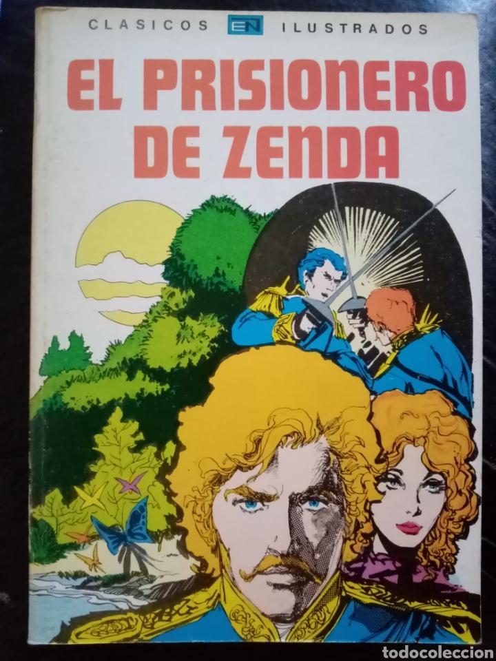 1980 EL PRISIONERO DE ZENDA. LIBRO ILUSTRADO TEBEO, CÓMIC. (Tebeos y Comics - Novaro - Aventura)
