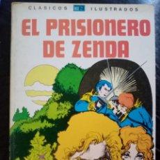 Tebeos: 1980 EL PRISIONERO DE ZENDA. LIBRO ILUSTRADO TEBEO, CÓMIC.. Lote 209780823