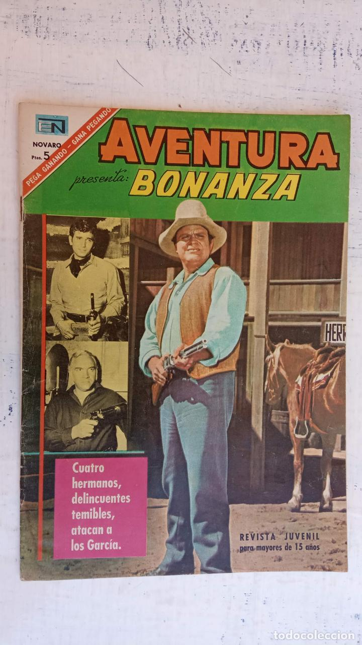 AVENTURA PREENTA: BONANZA Nº 475 - AÑO 1967 (Tebeos y Comics - Novaro - Aventura)