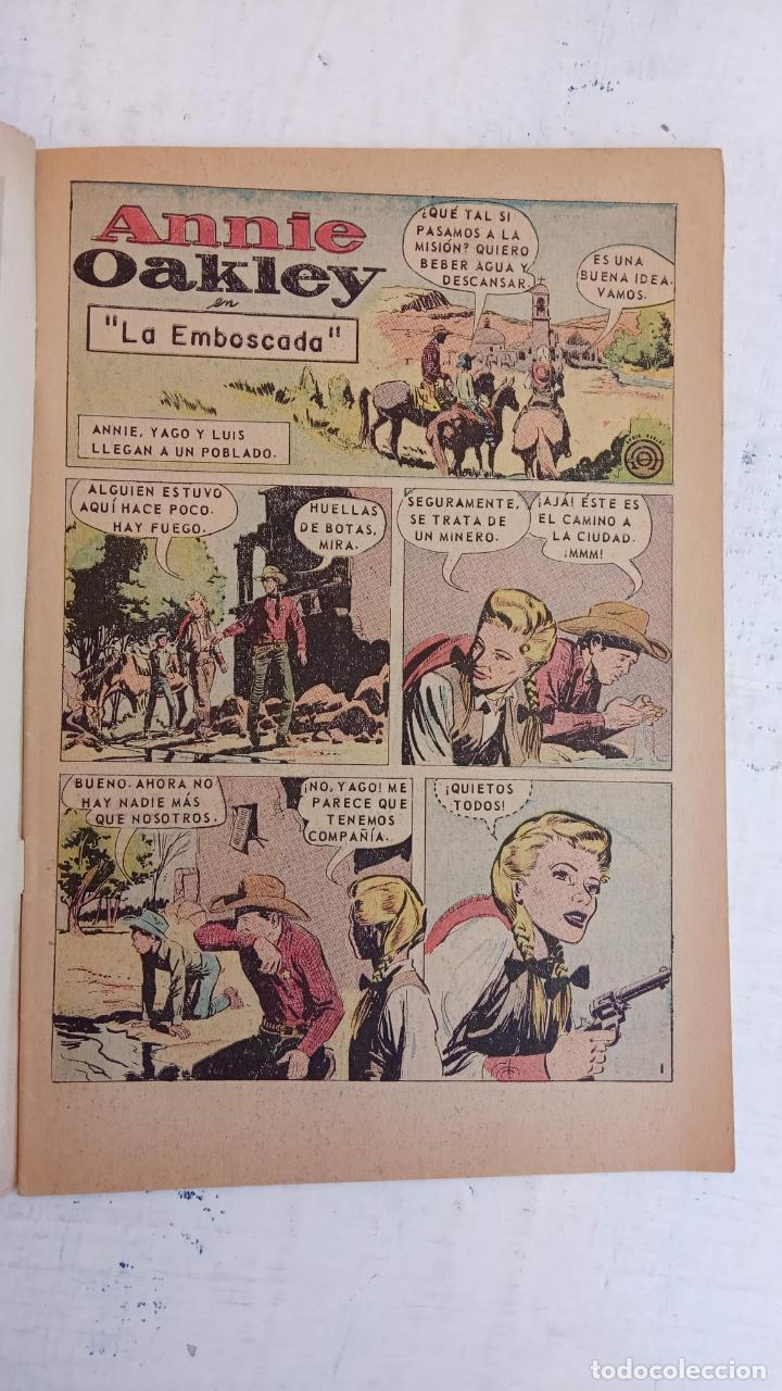 Tebeos: AVENTURA PRESENTA : ANNIE OAKLEY Nº 517 - DICIEMBRE 1967 - Foto 4 - 209802440