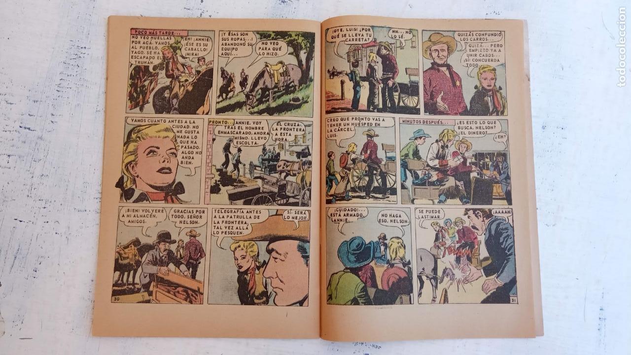 Tebeos: AVENTURA PRESENTA : ANNIE OAKLEY Nº 517 - DICIEMBRE 1967 - Foto 5 - 209802440