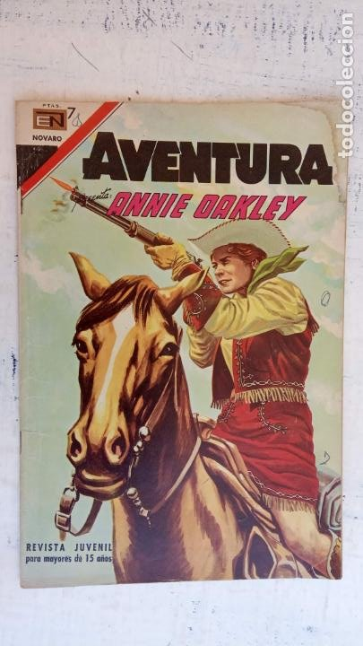 AVENTURA PRESENTA : ANNIE OAKLEY Nº 517 - DICIEMBRE 1967 (Tebeos y Comics - Novaro - Aventura)