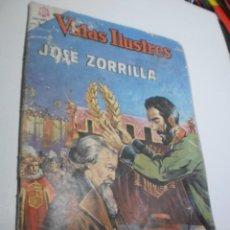 Tebeos: VIDAS ILUSTRES Nº 128 JOSÉ ZORRILLA. 1965 (CON DEFECTO, LEER). Lote 209918208