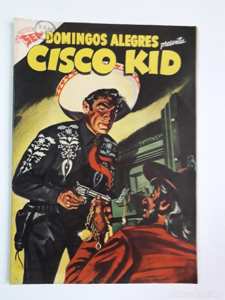 DOMINGOS ALEGRES N° 53 - CISCO KID! (FLAMANTE) - ORIGINAL EDITORIAL NOVARO (Tebeos y Comics - Novaro - Domingos Alegres)