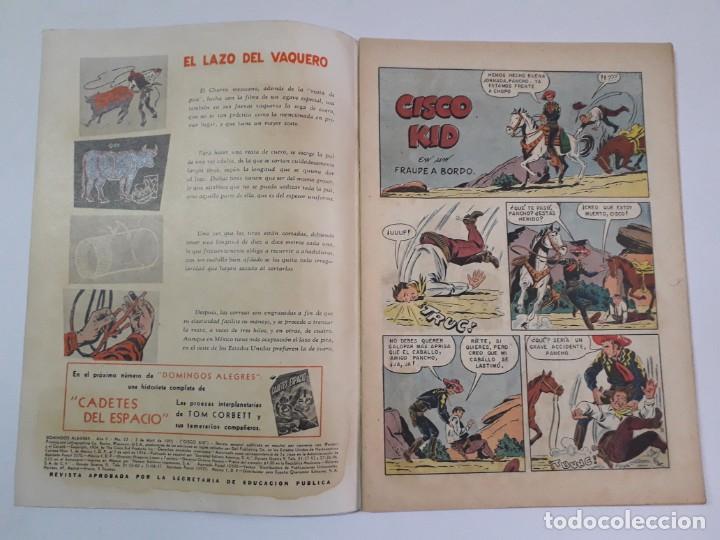 Tebeos: Domingos alegres n° 53 - Cisco Kid! (flamante) - original editorial Novaro - Foto 2 - 210002093