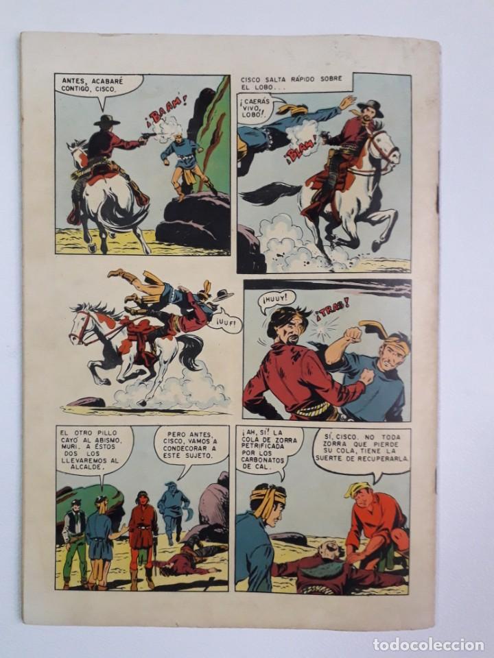 Tebeos: Domingos alegres n° 53 - Cisco Kid! (flamante) - original editorial Novaro - Foto 4 - 210002093