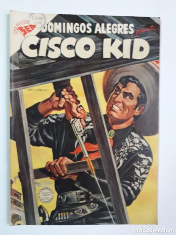 DOMINGOS ALEGRES N° 42 - CISCO KID! (EXCELENTE) - ORIGINAL EDITORIAL NOVARO (Tebeos y Comics - Novaro - Domingos Alegres)