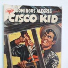Tebeos: DOMINGOS ALEGRES N° 42 - CISCO KID! (EXCELENTE) - ORIGINAL EDITORIAL NOVARO. Lote 210002238