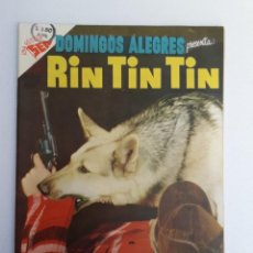 Tebeos: DOMINGOS ALEGRES N° 75 - RIN TIN TIN! (IMPECABLE) - ORIGINAL EDITORIAL NOVARO. Lote 210003427