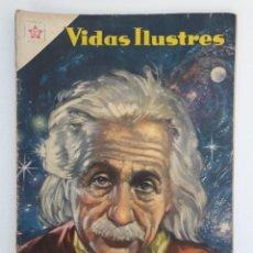 Tebeos: VIDAS ILUSTRES N° 3 - ALBERTO EINTEIN - ORIGINAL EDITORIAL NOVARO. Lote 210014203