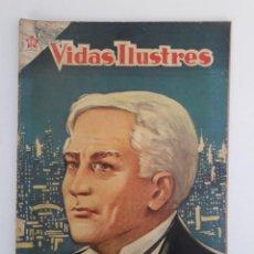 Tebeos: VIDAS ILUSTRES N° 2 - TOMÁS ALVA EDISON - ORIGINAL EDITORIAL NOVARO. Lote 210014455