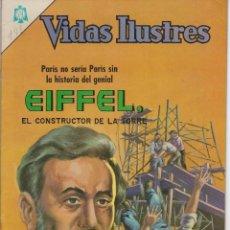Tebeos: VIDAS ILUSTRES: EIFFEL, EL CONSTRUCTOR ... - AÑO XI, Nº 141- JULIO 1º DE 1966 *** NOVARO MÉXICO ***. Lote 210082355