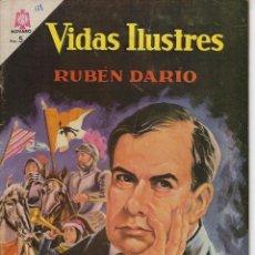 Tebeos: VIDAS ILUSTRES: RUBÉN DARÍO - AÑO XI, Nº 138 - MAYO 15 DE 1966 *** NOVARO MÉXICO ***. Lote 210082470