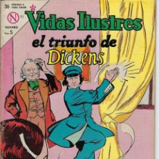 Livros de Banda Desenhada: VIDAS ILUSTRES: EL TRIUNFO DE DICKENS - AÑO IX, Nº 97 - FEBRERO 1º DE 1964 *** NOVARO MÉXICO ***. Lote 210085123