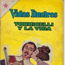 Livros de Banda Desenhada: VIDAS ILUSTRES: TORRICELLI Y LA VIDA - AÑO VIII, Nº 89 - JUNIO 1º DE 1963 *** NOVARO MÉXICO ***. Lote 210087091