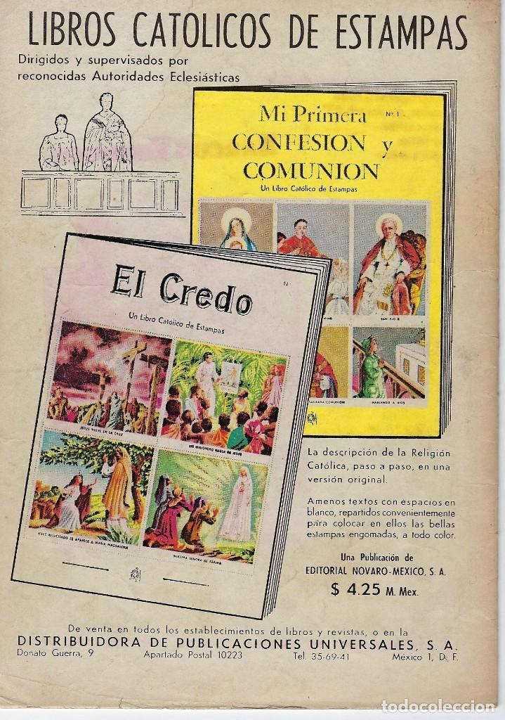 Tebeos: VIDAS ILUSTRES: TORRICELLI Y LA VIDA - AÑO VIII, Nº 89 - JUNIO 1º DE 1963 *** NOVARO MÉXICO *** - Foto 2 - 210087091
