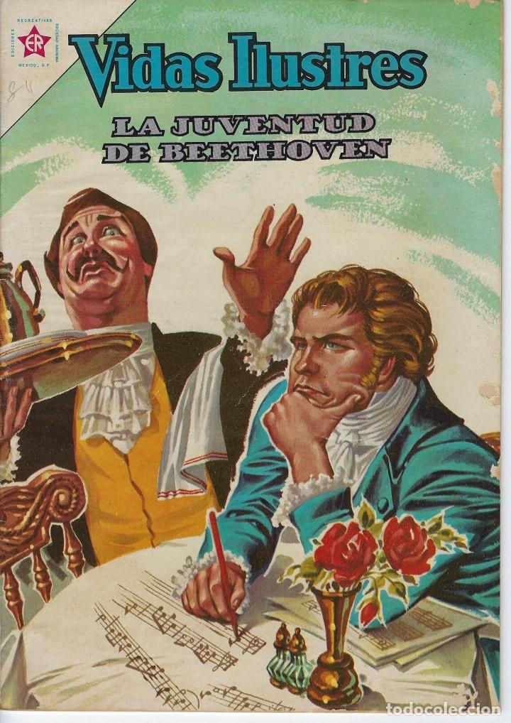 VIDAS ILUSTRES: LA JUVENTUD DE BEETHOVEN - AÑO VII, Nº 84 - ENERO 1º DE 1963 ***NOVARO MÉXICO *** (Tebeos y Comics - Novaro - Vidas ilustres)