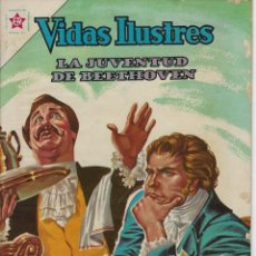 Livros de Banda Desenhada: VIDAS ILUSTRES: LA JUVENTUD DE BEETHOVEN - AÑO VII, Nº 84 - ENERO 1º DE 1963 ***NOVARO MÉXICO ***. Lote 210087635