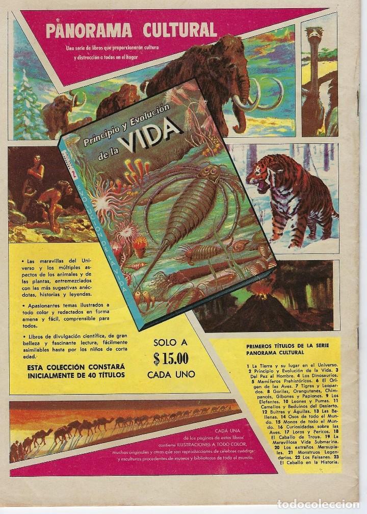 Tebeos: VIDAS ILUSTRES: LA JUVENTUD DE BEETHOVEN - AÑO VII, Nº 84 - ENERO 1º DE 1963 ***NOVARO MÉXICO *** - Foto 2 - 210087635