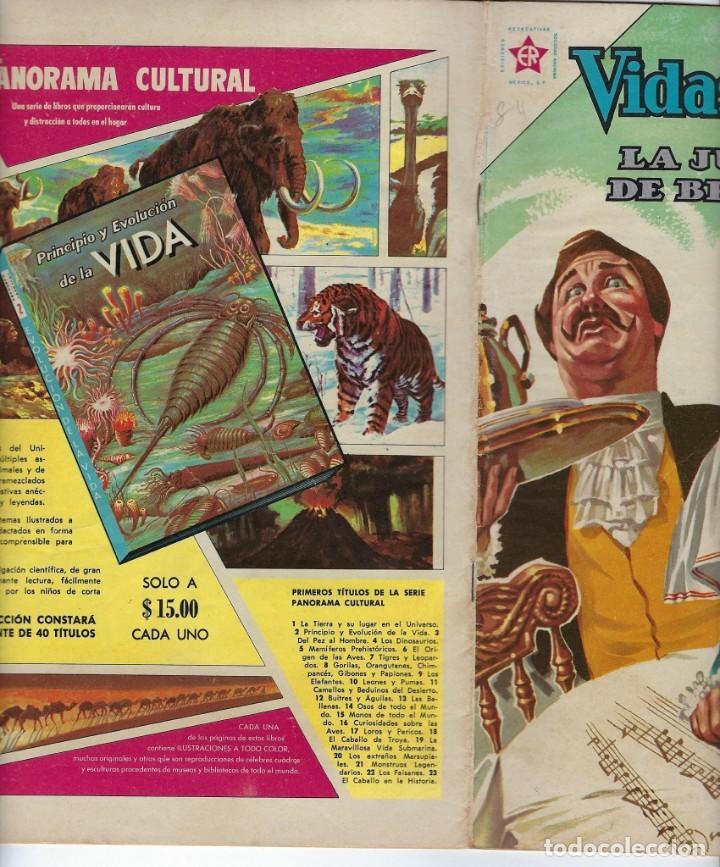 Tebeos: VIDAS ILUSTRES: LA JUVENTUD DE BEETHOVEN - AÑO VII, Nº 84 - ENERO 1º DE 1963 ***NOVARO MÉXICO *** - Foto 3 - 210087635