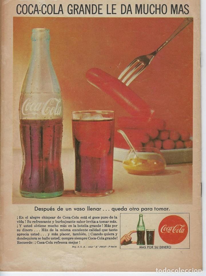 Tebeos: VIDAS ILUSTRES: KOCH EL VENCEDOR DE LA... - AÑO VII, Nº 79 - AGOSTO 1º DE 1962 *** NOVARO MÉXICO *** - Foto 2 - 210087953