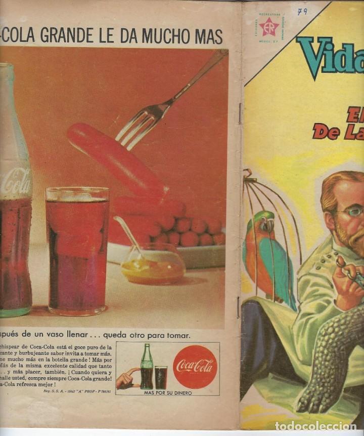 Tebeos: VIDAS ILUSTRES: KOCH EL VENCEDOR DE LA... - AÑO VII, Nº 79 - AGOSTO 1º DE 1962 *** NOVARO MÉXICO *** - Foto 3 - 210087953