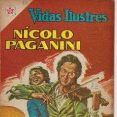Tebeos: VIDAS ILUSTRES: NICOLO PAGANINI - AÑO VII, Nº 77 - JUNIO 1º DE 1962 *** NOVARO MÉXICO ***. Lote 210088113