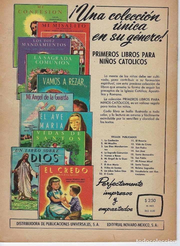 Tebeos: VIDAS ILUSTRES: NICOLO PAGANINI - AÑO VII, Nº 77 - JUNIO 1º DE 1962 *** NOVARO MÉXICO *** - Foto 2 - 210088113