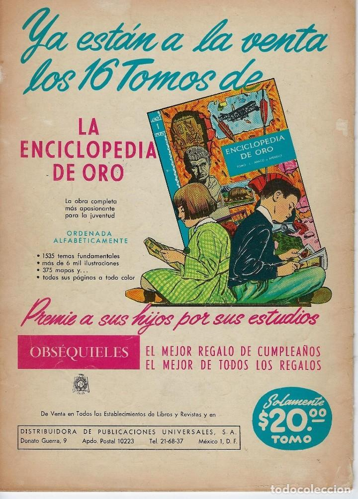Tebeos: VIDAS ILUSTRES: GRAHAM BELL - AÑO VII, Nº 75 - ABRIL1º DE 1962 *** NOVARO MÉXICO *** - Foto 2 - 210088420