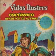 Tebeos: VIDAS ILUSTRES: COPÉRNICO INVENTOR DE ASTROS - AÑO VII, Nº 74 - MARZO 1º DE 1962 **NOVARO MÉXICO ***. Lote 210088602