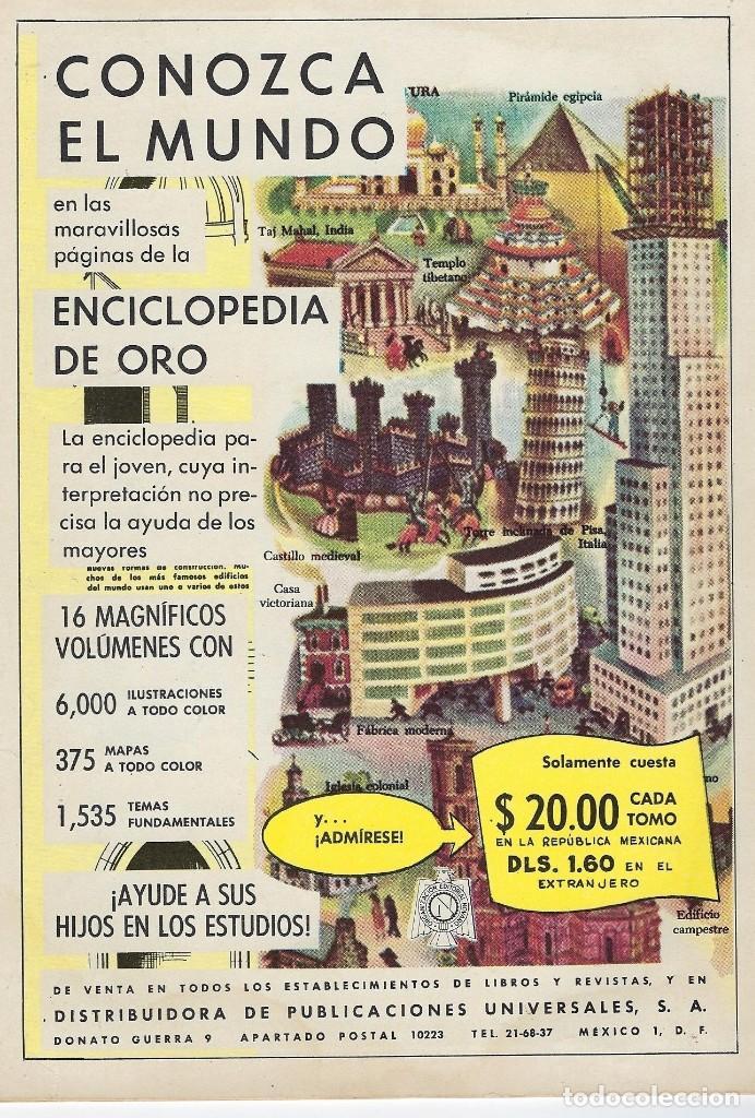 Tebeos: VIDAS ILUSTRES: TESLA INVENTOR DEL SIGLO XX - AÑO VI, Nº 71 - DIC. 1º DE 1961 *** NOVARO MÉXICO *** - Foto 2 - 210089026