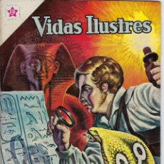 Tebeos: VIDAS ILUSTRES: CHAMPOLLION Y LOS... AÑO VI, Nº 67 - AGOSTO 1º DE 1961 *** NOVARO MÉXICO ***. Lote 210089650