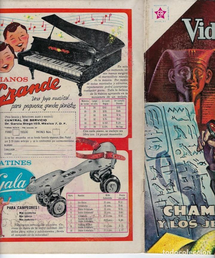 Tebeos: VIDAS ILUSTRES: CHAMPOLLION Y LOS... AÑO VI, Nº 67 - AGOSTO 1º DE 1961 *** NOVARO MÉXICO *** - Foto 3 - 210089650