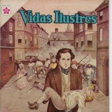 Tebeos: VIDAS ILUSTRES: LA JUVENTUD DE VÍCTOR HUGO - AÑO VI, Nº 63 - ABRIL 1º DE 1961 *** NOVARO MÉXICO ***. Lote 210093650