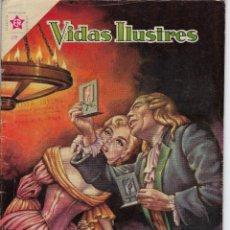 Tebeos: VIDAS ILUSTRES: VAN LEEUWENHOEK - AÑO V, Nº 54 - JULIO 1º DE 1960 *** NOVARO MÉXICO ***. Lote 210094395