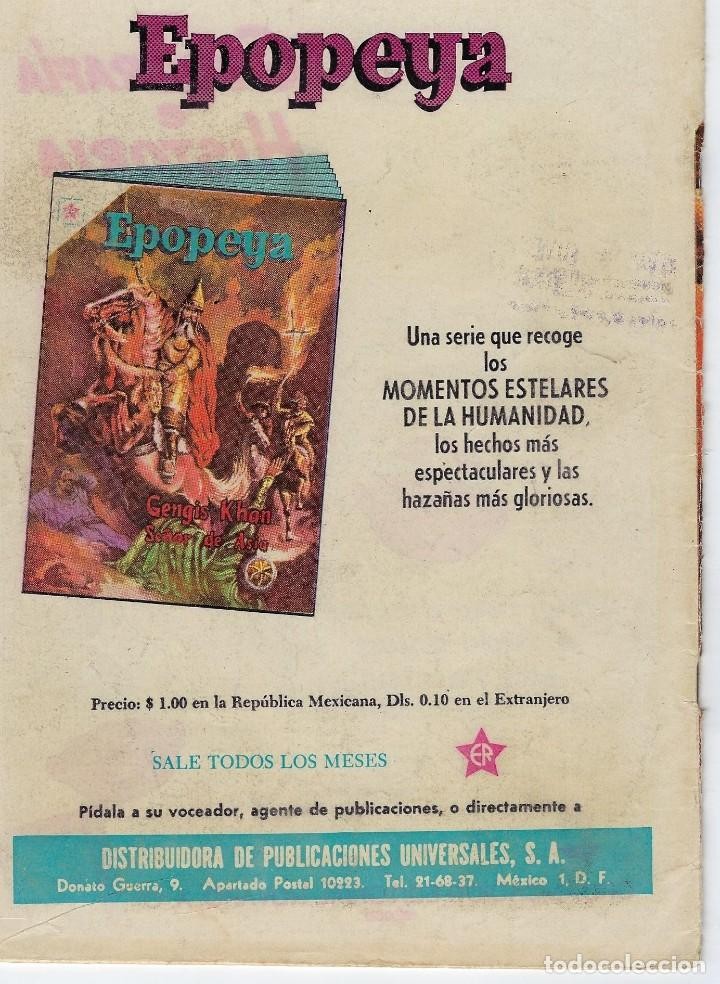 Tebeos: VIDAS ILUSTRES: VAN LEEUWENHOEK - AÑO V, Nº 54 - JULIO 1º DE 1960 *** NOVARO MÉXICO *** - Foto 2 - 210094395