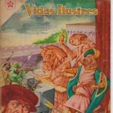 Tebeos: VIDAS ILUSTRES: LEONARDO DE VINCI - AÑO V, Nº 53 - JUNIO 1º DE 1960 *** NOVARO MÉXICO ***. Lote 210095020