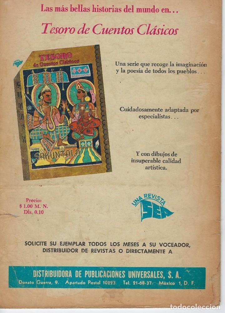 Tebeos: VIDAS ILUSTRES: MOZART EL NIÑO PRODIGIO - AÑO V, Nº 51 - ABRIL 1º DE 1960 *** NOVARO MÉXICO *** - Foto 2 - 210095598
