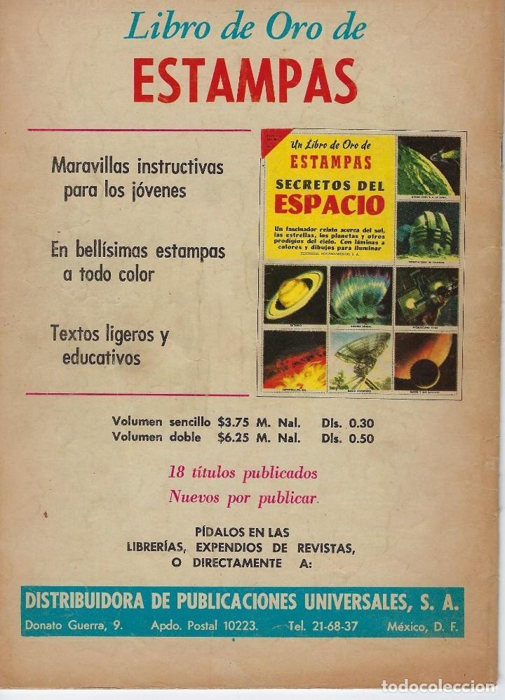 Tebeos: VIDAS ILUSTRES: RAMÓN Y CAJAL EL SABIO - AÑO V, Nº 50 - MARZO 1º DE 1960 *** NOVARO MÉXICO *** - Foto 2 - 210095695