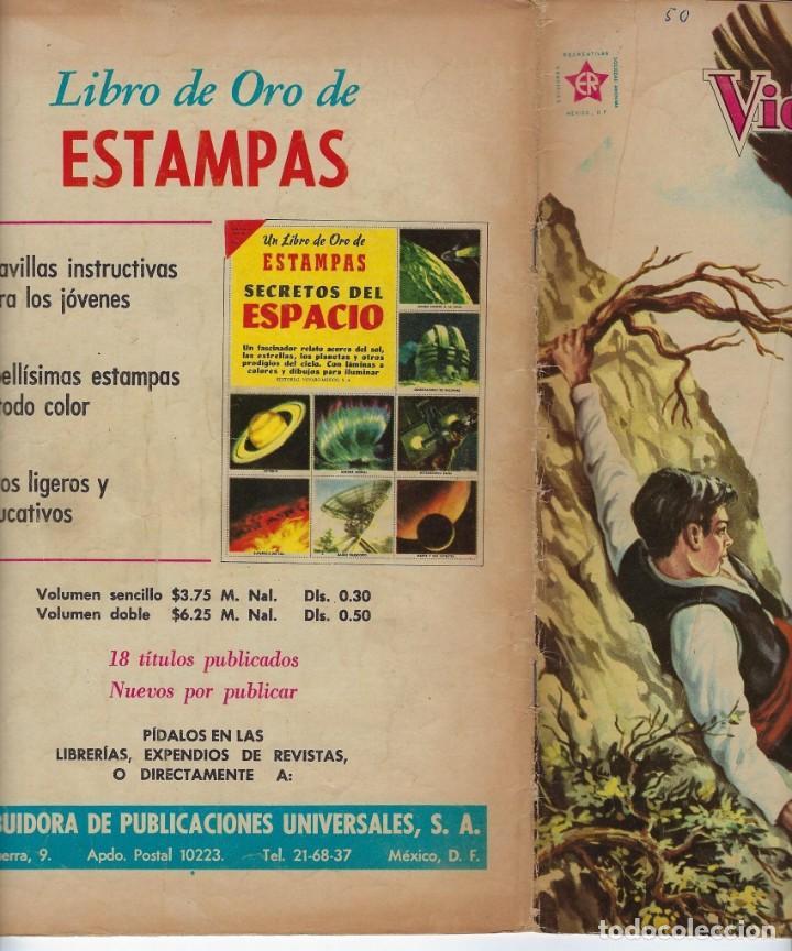Tebeos: VIDAS ILUSTRES: RAMÓN Y CAJAL EL SABIO - AÑO V, Nº 50 - MARZO 1º DE 1960 *** NOVARO MÉXICO *** - Foto 3 - 210095695