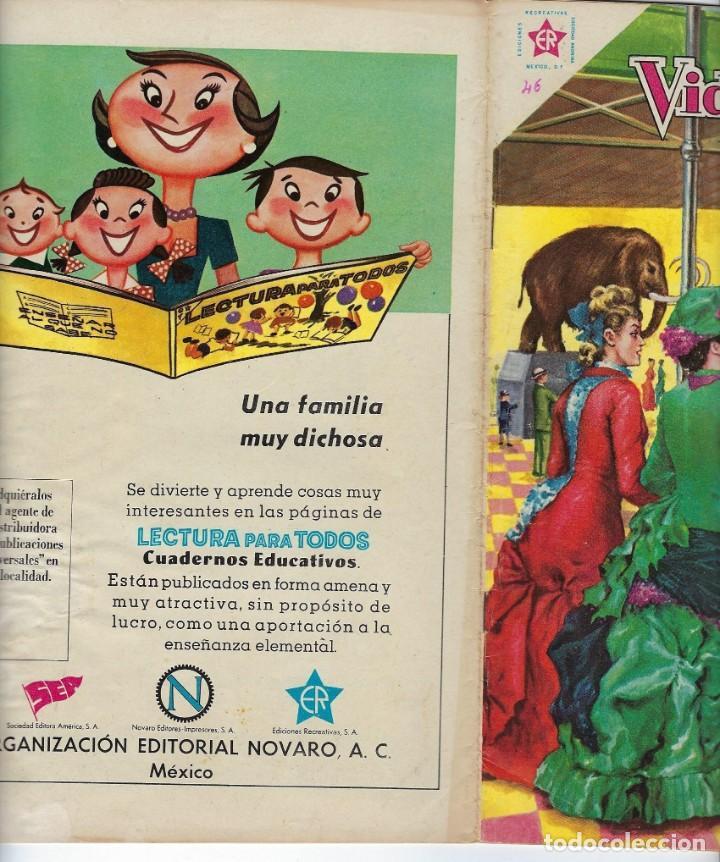Tebeos: VIDAS ILUSTRES: EUGENIO DUBOIS - AÑO IV, Nº 46 - NOVIEMBRE 1º DE 1959 *** NOVARO MÉXICO *** - Foto 3 - 210096325