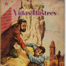 Tebeos: VIDAS ILUSTRES: AUGUSTO RODIN - AÑO IV, Nº 45 - OCTUBRE 1º DE 1959 *** NOVARO MÉXICO ***. Lote 210096553